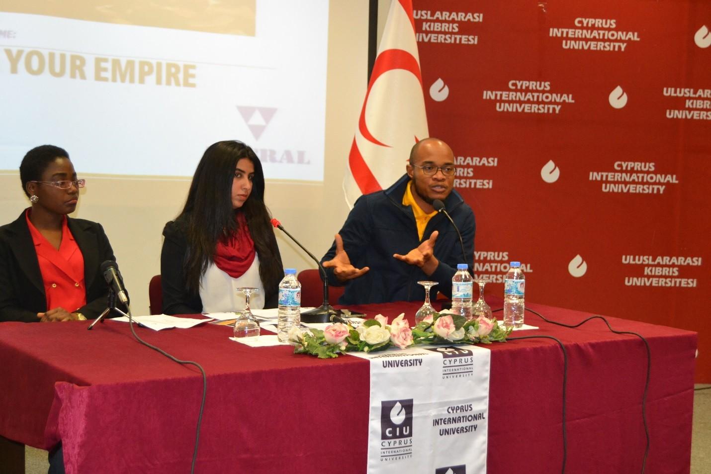 UKÜ'de konferans: Kendi imparatorluğunuzu oluşturun