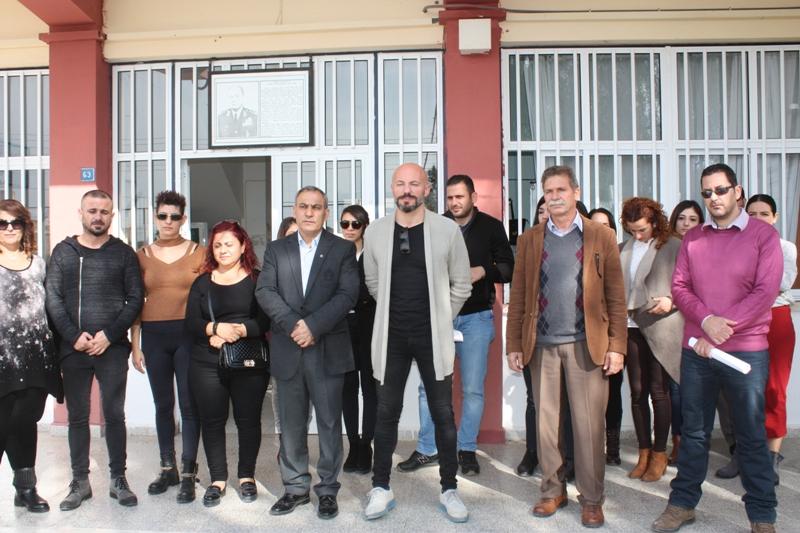 Okul Aile Birliği Polatpaşa Lisesi'nde eylem yaptı