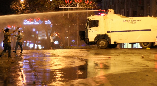 Kızılay'da 'Gezi' eylemine müdahale