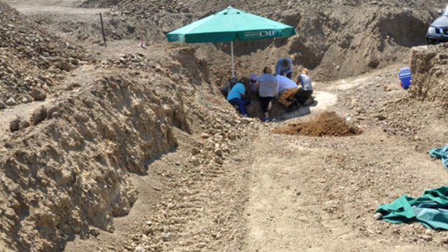 Meriç (Mora) köyünde 4 Rum askerin kalıntılarına ulaşıldı