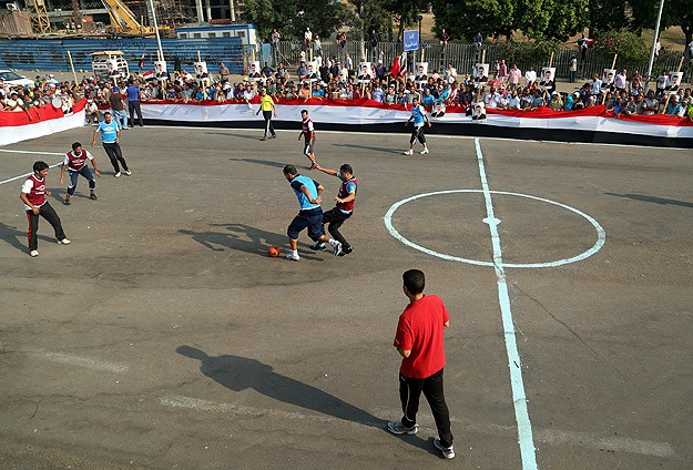 """""""Darbe Karşıtı Lig"""" Mısır Süper Ligi'ni aratmadı"""