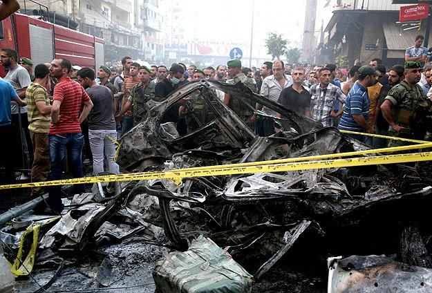 Beyrut'ta şiddetli patlama: 21 ölü