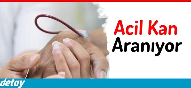 Acil A Rh+ Kan Aranıyor