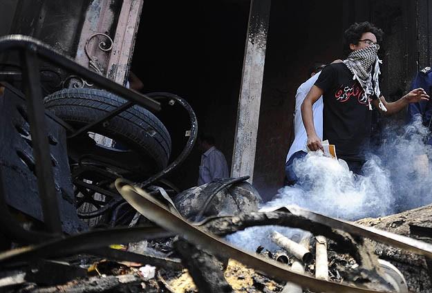 Baltacılar HAP merkezini yaktı