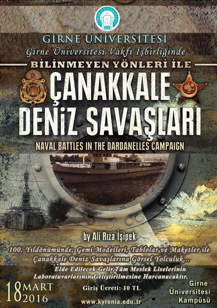 """""""Bilinmeyen Yönleri İle Çanakkale Deniz Savaşı Sergisi"""" açılıyor"""