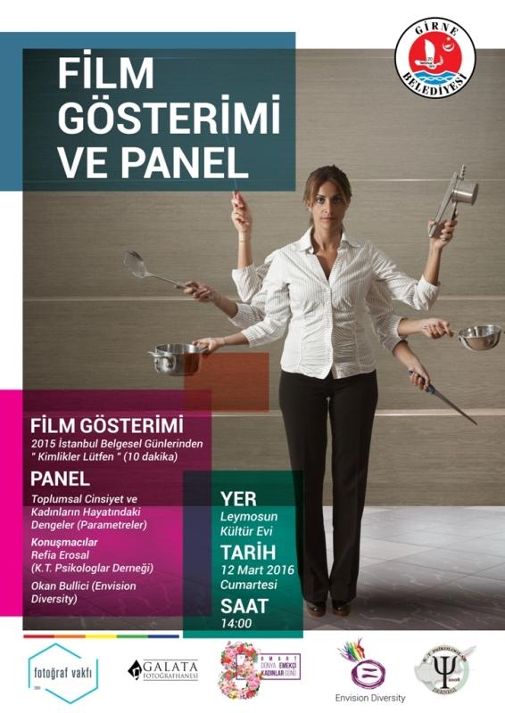 """Girne'de """"Toplumsal Cinsiyete"""" yönelik etkinlik yapılacak"""