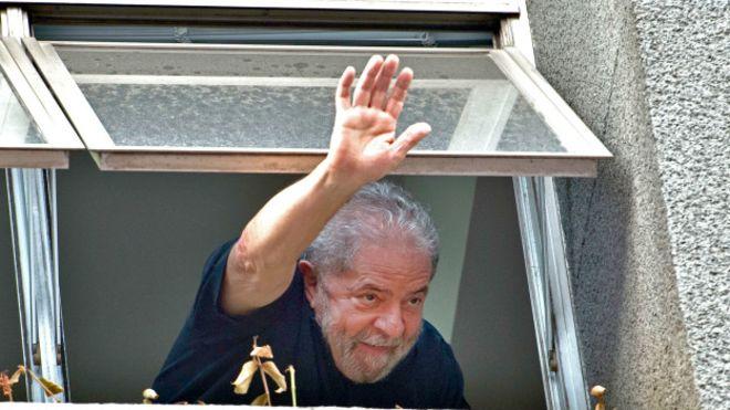 Brezilya eski liderine 'kara paradan' tutuklama