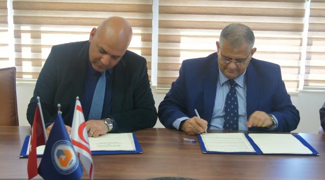 Mehmetçik Belediyesi ve DAÜ arasında işbirliği protokolü imzalandı.