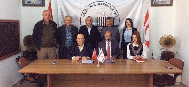 Geçitkale'de Kent Merkezi ve Atatürk Meydanı düzenlenecek