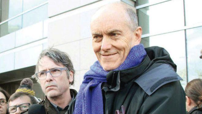 Newroz davetiyesi nedeniyle 5 yıl hapsi istenen Chris Stephenson beraat etti