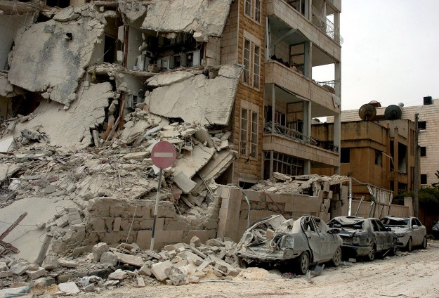 "Esed ""TNT"" dolu varil bombasıyla vurdu"