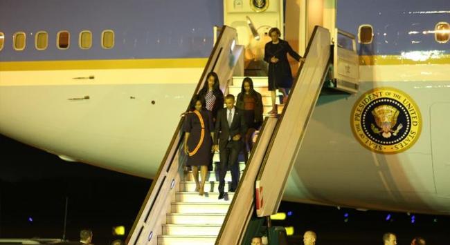 ABD Başkanı Obama Arjantin'de