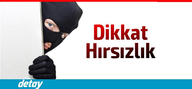 Girne'de plajda hırsızlık