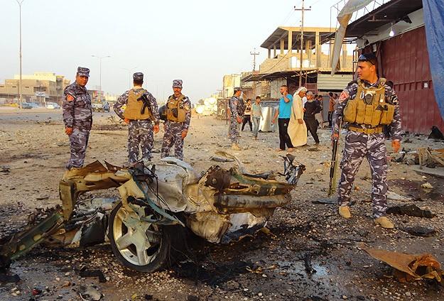 Irak'ta bombalı saldırı:10 ölü, 42 yaralı