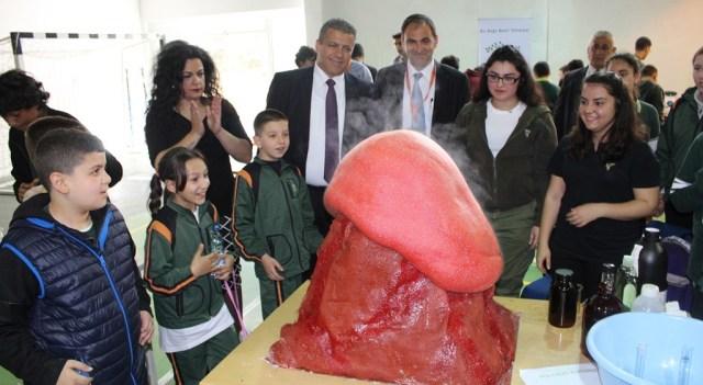 5. Doğu Akdeniz Doğa Koleji Bilim Şenliği yapıldı
