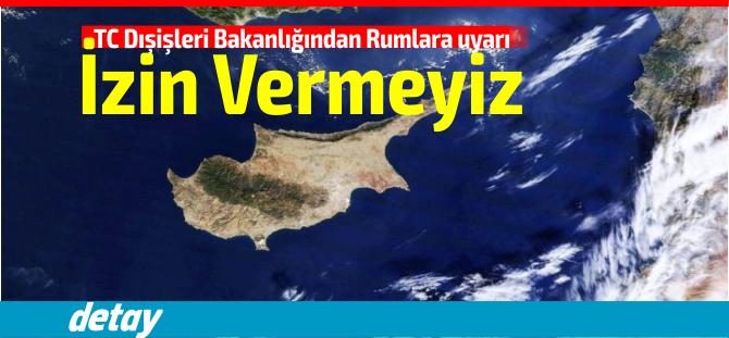 Akdeniz'in suları ısınıyor! Türkiye'den Rumlara rest!