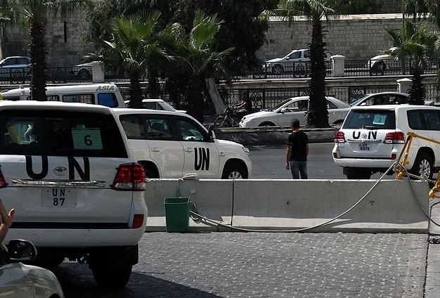 """BM heyeti """"kimyasal silah"""" araştırmalarına devam ediyor"""
