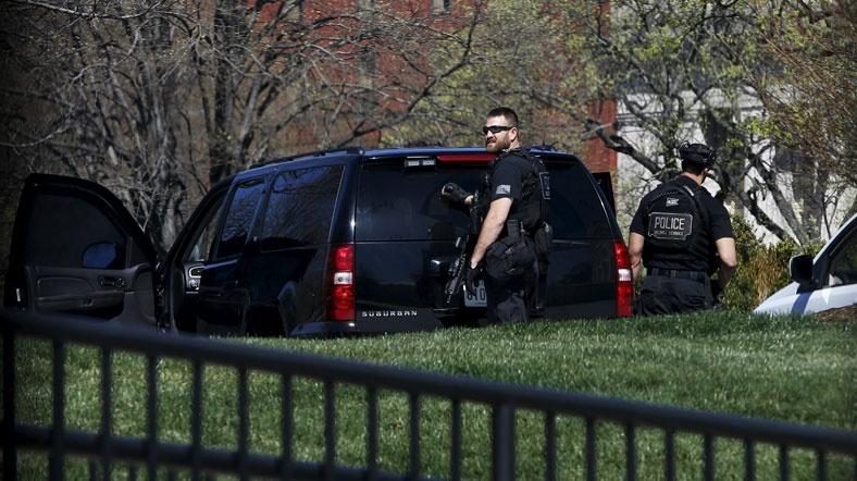 Washington'da silahlı saldırı
