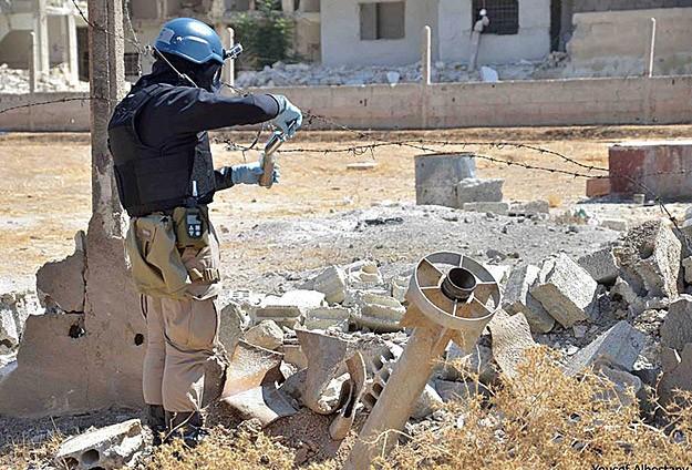 BM ekibi cumartesi Suriye'den ayrılacak
