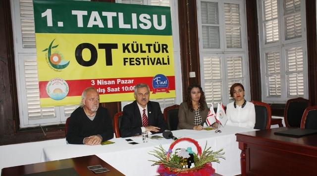 1'inci Tatlısu Ot Kültür Festivali başlıyor