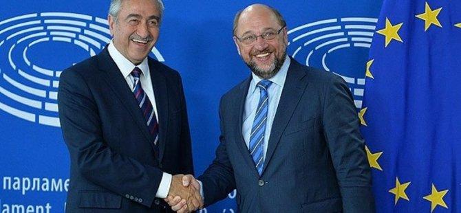 Schulz'dan liderlere destek