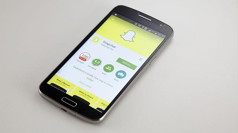 Snapchat'e 'müstehcenlik' davası