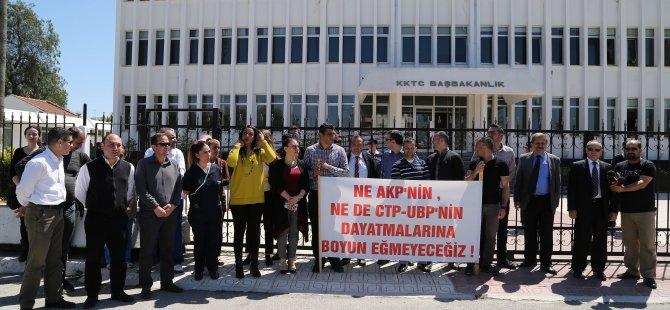 KTAMS ve KAMU-SEN AKP ve CTP-UBP hükumetlerini kınadı