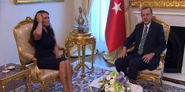 Hülya Avşar, Erdoğan İle Görüştü