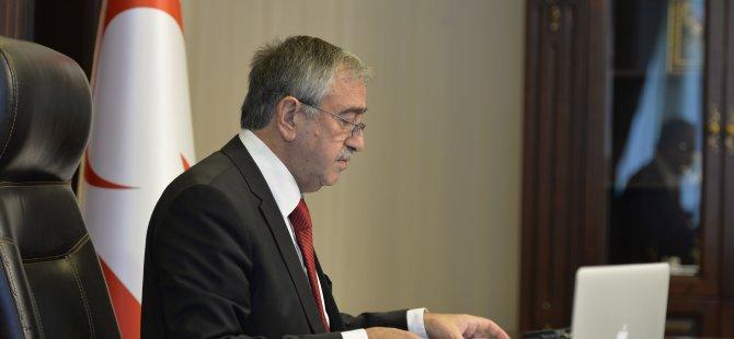 Akıncı, ABD'nin Lefkoşa Büyükelçisi'ni kabul etti