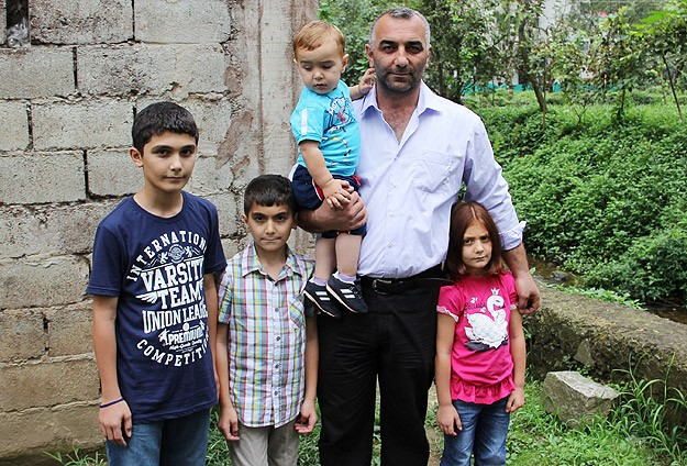 Erdoğan'dan dördüncü çocuğu olan babaya tebrik telefonu