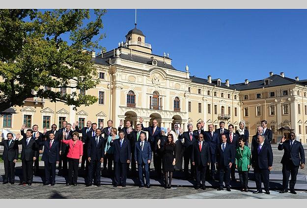 G20 liderleri aile fotoğrafında buluştu