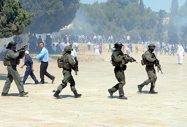 Gözaltına alınan Filistinliler serbest bırakıldı