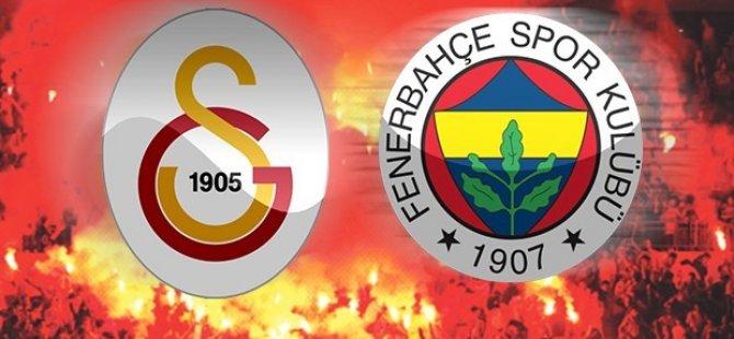Fenerbahçe Galatasaray derbisi berabere sona erdi