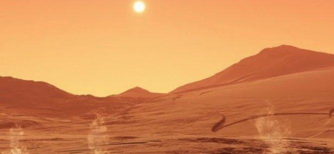 Marsta iki kayaya Rumca isim verildi