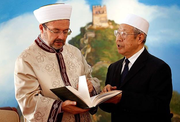 Görmez'den Çin İslam Cemiyeti'ne ziyaret