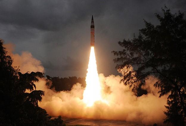 Hindistan'dan ikinci nükleer füze denemesi