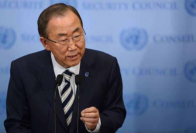 Ban Ki-mun kimyasal silah raporunu açıkladı