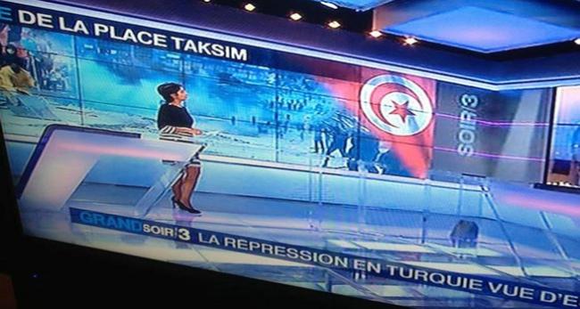 Türk bayrağı Tunus bayrağı oldu