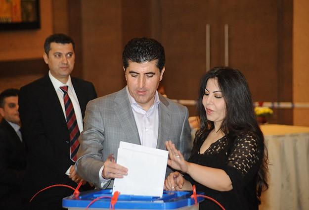 IKBY'de seçim başladı