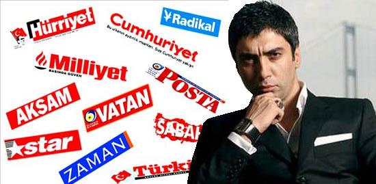 İşte Türkiye Medyası'nda Necati Şaşmaz Haberi