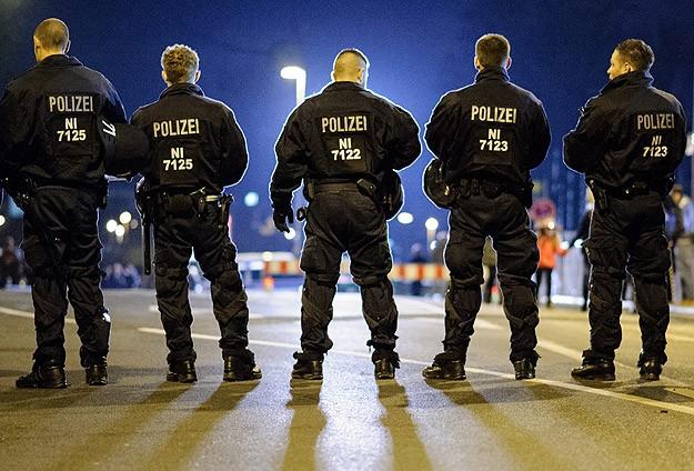 Almanya'da cami arazisinde çirkin olay