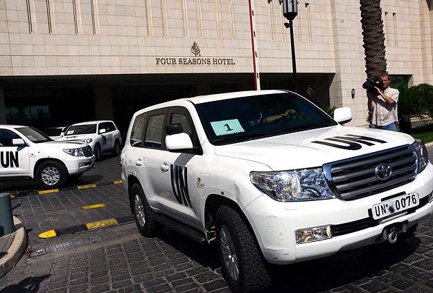 BM denetçileri Şam'a gidecek