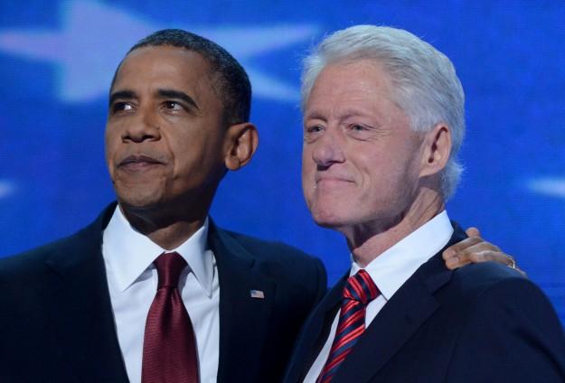 """Clinton'dan """"bol yıldızlı"""" zirve"""