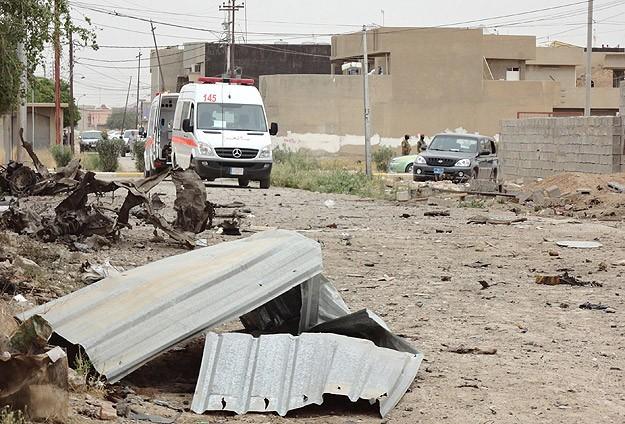 Irak'ta pazar yerine bombalı saldırı: 7 ölü