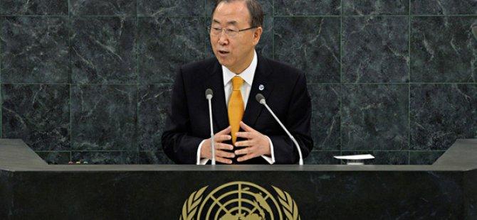 """Ban Ki-moon: """"Kıbrıs bana gelecek için umut veriyor"""""""