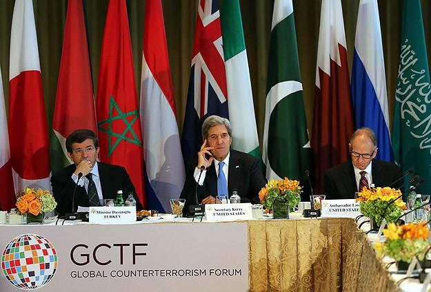 Davutoğlu ve Kerry TMKF'ya eşbaşkanlık yaptı
