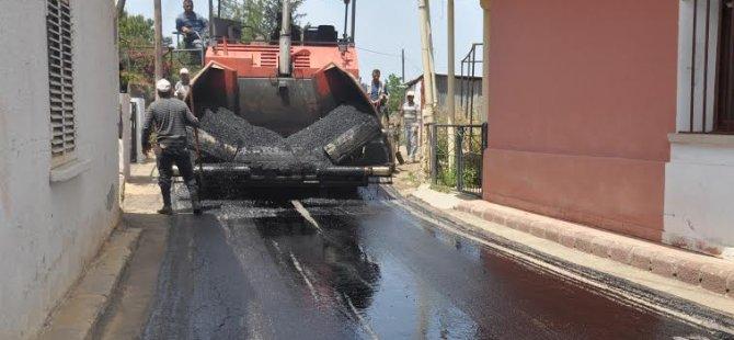 Aydınköy, asfaltlanıyor!