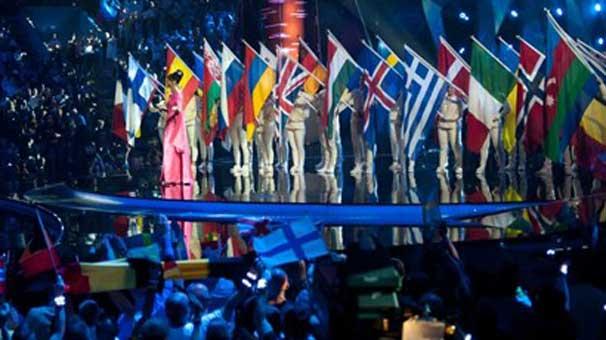 Eurovision şarkı yarışmasında KKTC bayrak krizi