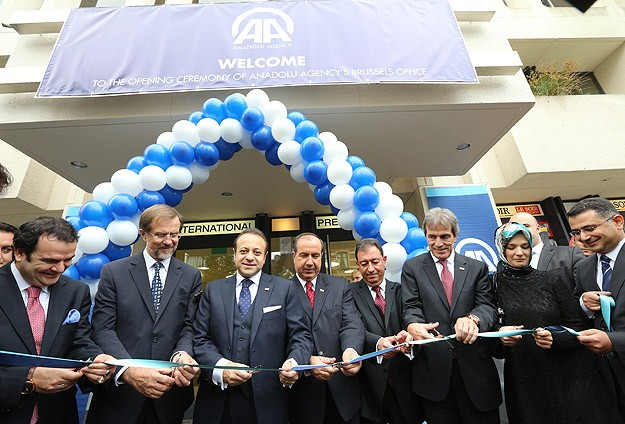 Anadolu Ajansı Brüksel ofisi açıldı