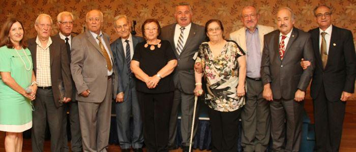 Cemal, Özcanhan ve Kanatlı'ya 'Onur Hizmet Ödülü'